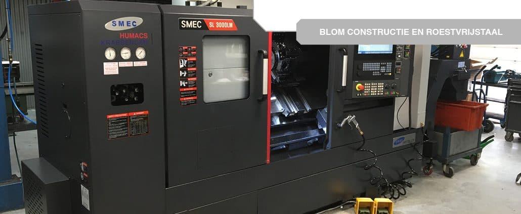 SMEC SL3000BLM voor Blom Constructie en Roestvrijstaal